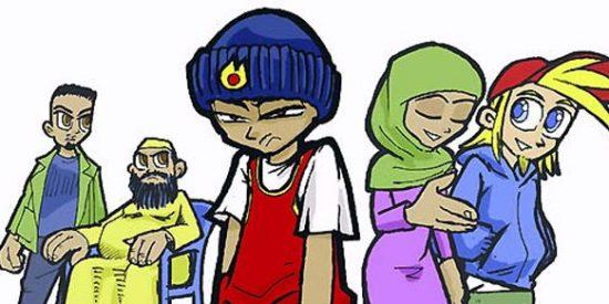 Andi, el cómic que lucha contra la xenofobia y el radicalismo religioso