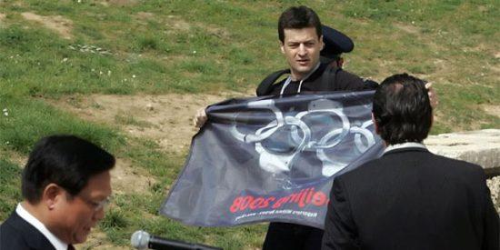 Reporteros Sin Fronteras boicotea la ceremonia de la Llama Olímpica