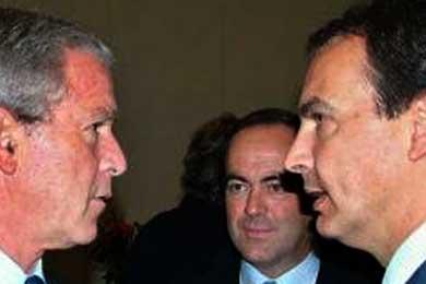 Zapatero y Bush apoyan la liberación de los presos políticos cubanos