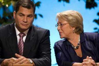 """Bachelet y Correa destacan el """"excelente"""" nivel de las relaciones bilaterales"""