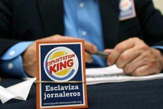 Una ONG lanza una campaña contra Burger King por 'esclavizar' a jornaleros