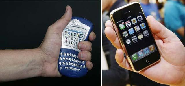 iPhone 3G, ¿una amenaza real para la dominación de la Blackberry en el mundo corporativo?