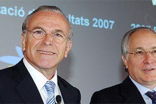 Fainé y Nin formalizan la compra de Morgan Stanley España por parte de 'la Caixa'