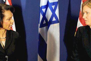 """Rice pide nuevos pasos """"significativos"""" a israelíes y palestinos"""