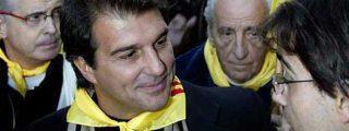 """Laporta: """"Cataluña es un país entre Francia y España"""""""