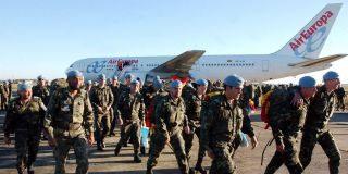 Regresa un contingente de 158 soldados españoles procedente de Líbano