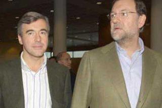 Esperanza Aguirre, Angel Acebes, Mariano Rajoy y Pío García-Escudero