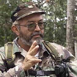 """(PL).- El Gorila Rojo ha advertido al presidente Uribe de que sería """"causa de guerra"""" una eventual incursión militar colombiana en Venezuela y ha definido ... - raulreyes-farc"""