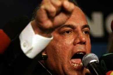 """Manuel Rosales: """"Hugo Chávez es un traidor a la patria"""""""