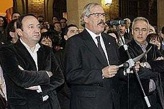 Calahorra sale a la calle en silencio contra ETA