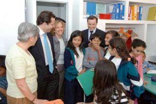 Fernández-Lasquetty visitó centro educativo Jara que Gobierno regional financia