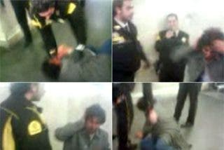 Un vigilante del metro de Madrid patea a un viajero latinoamericano