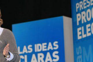 """Aguirre: """"La socialdemocracia se siente más cómoda con Rajoy"""""""