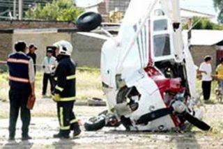 Avioneta se estrella en aeropuerto de Bolivia y su piloto herido se va en taxi