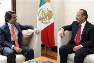Calderón y Aznar dialogan sobre las relaciones España-México