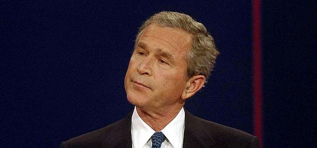 Lo que Bush dice y lo que Bush hace