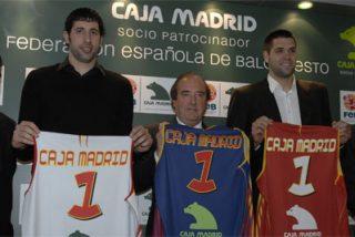 Caja Madrid patrocinará a la selección española de baloncesto durante los próximos tres años