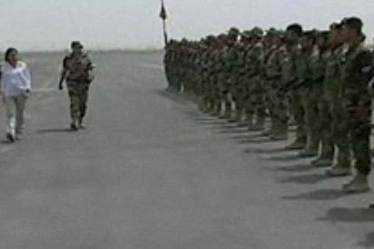 Chacón viaja a Afganistán a visitar a nuestras tropas