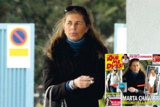 Marta Chávarri acude a un centro de trastornos psicológicos