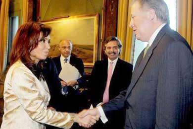 EE.UU quiere que Argentina acuerde con el Club de París