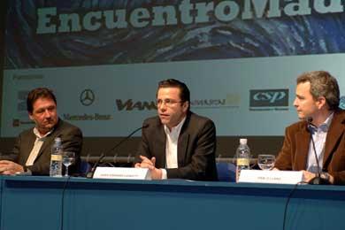 """Fernández-Lasquetty participó en la Mesa redonda """"Encuentro Madrid"""""""