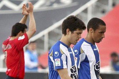 Osasuna respira a costa de un Espanyol en caída libre