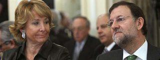Aguirre pide a Rajoy que no le culpe de lo que dice Losantos