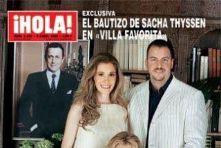 """Bautizo en la """"familia feliz"""""""