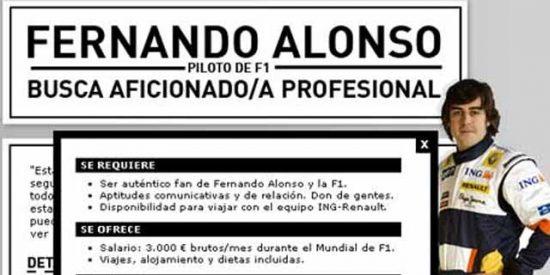 Lección de pilotaje de Alonso