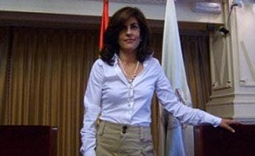 """Gloria Lago: """"No decimos que el castellano esté en peligro; decimos que está en peligro la libertad de usarlo"""""""