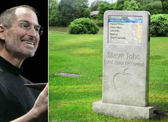 iGrave, la lápida que Steve Jobs nunca imaginó