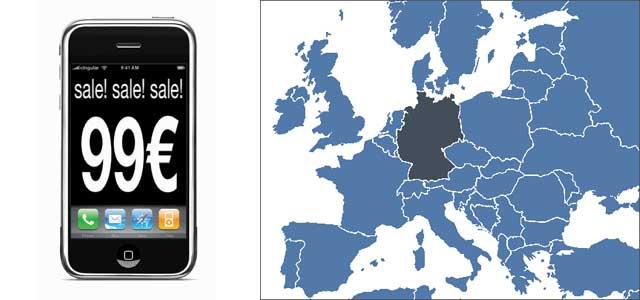 Magia potagia: Deutsche Telekom rebaja de 399 a 99 euros el precio del iPhone en Alemania