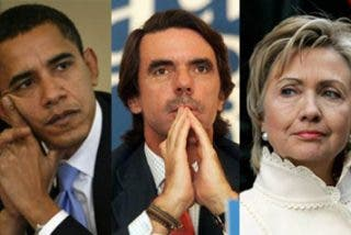 Aznar vs Clinton y Obama