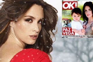 Paz Vega presenta a su hijo Orson