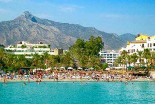 Marbella cae con la crisis