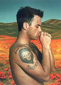 Robbie Williams pide ayuda a un abducido porque teme la oscuridad