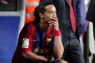 El Barça ocultó que Ronaldinho tenía molestias en pubis y obturador