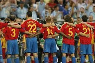 La selección española de fútbol, cuarta en el ranking de la FIFA