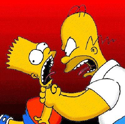 Chávez prohíbe a los Simpsons
