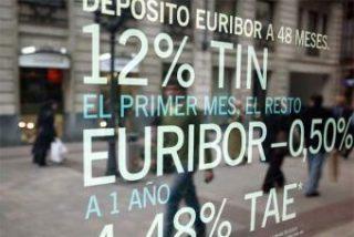El Euríbor dispara su tasa diaria al 5,450% y marca el nivel más alto de la historia