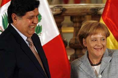 Inversiones alemanas en Perú se triplicaron con visita de Angela Merkel