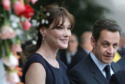 La imagen de la boda de Sarkozy