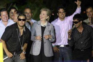 Hillary con los puertorriqueños