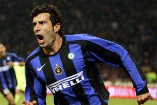 """Figo: """"Con Mancini es imposible seguir en el Inter"""""""