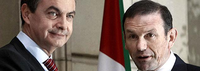 Ibarretxe llega a Moncloa en busca del respaldo a su plan secesionista