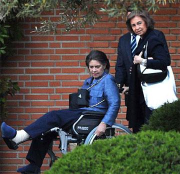 Irene de Grecia sale del hospital