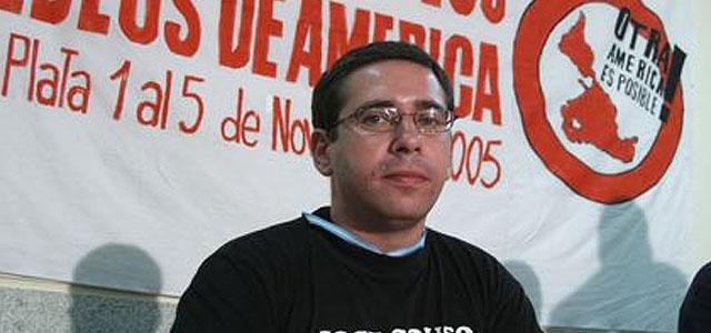 """Javier Couso: """"Detrás del caso de mi hermano vemos motivos para agradar al Gobierno de EEUU"""""""