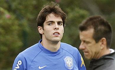 El Milan no permitirá a Kaká ir a los Juegos