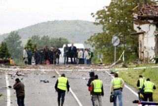 El 'comando Vizcaya' empleó una bomba con temporizador y más de 100 kilos de explosivos