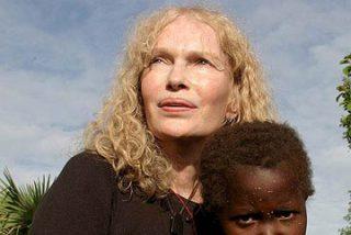 Mia Farrow visita Bossangoa